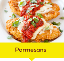 Chicken Parmesan with Cheese